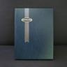 Supersafe 16 White Page Stockbook, Blue