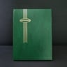 Supersafe 16 White Page Stockbook, Green
