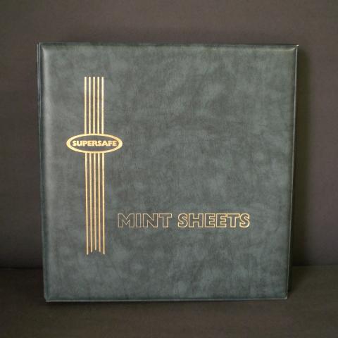 Supersafe Deluxe Mint Sheet Album, Gray