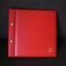 Showgard 895 FDC Album, Euro Size, Red