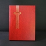 Supersafe 16 White Page Stockbook, Red