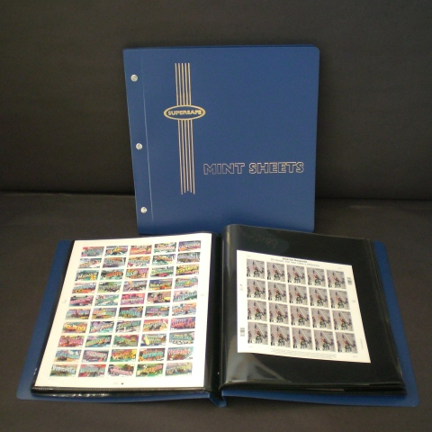 Supersafe Mint Sheet File, 24 Sheet Capacity