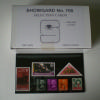 """Showgard Selection Cards w/ 2 Strips & Coverleaf  3"""" x 6"""""""